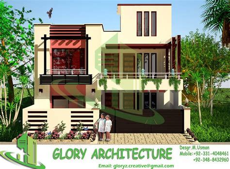Three D Home Designs : Architectural Drawings Map Naksha 3d House Design Plan E