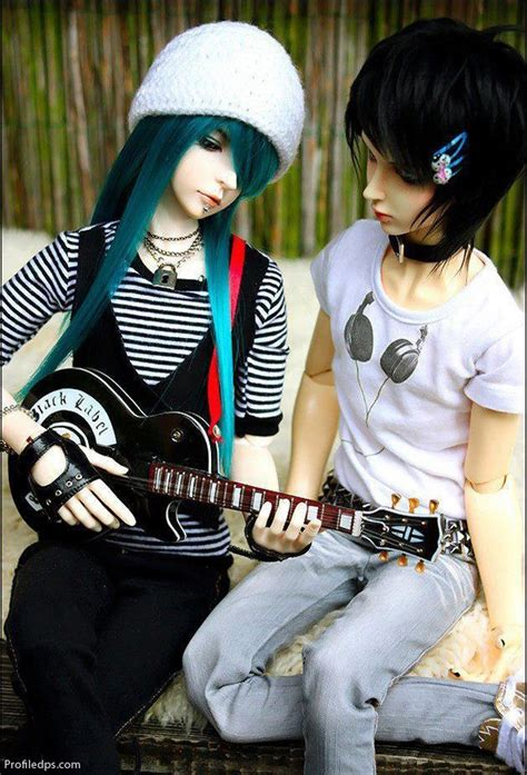 beautiful cute dolls couple   profile pictures