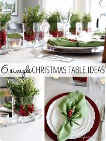 6 simple christmas table ideas perfect for last minute finding home farms