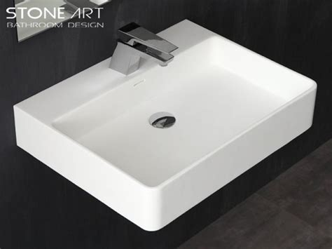 Mineralguss Waschbecken Zur Wandmontage Denver Classic & Stone
