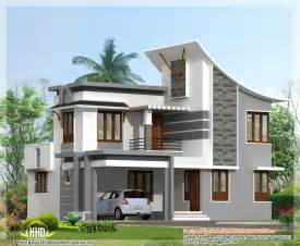 modern 3 bedroom house in 1880 sq kerala home design and floor plans