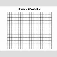 15+ Blank Crossword Template  Crossword Template  Free & Premium Templates
