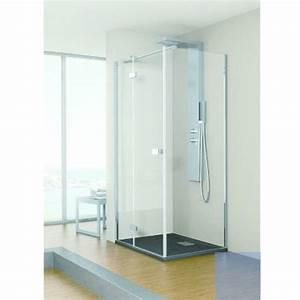 ensemble cabine de douche a porte pivotante kinestyle With cabine douche porte pivotante