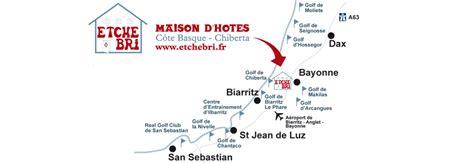 chambre hote hossegor les golfs du pays basque maison d 39 hôtes anglet etchebri