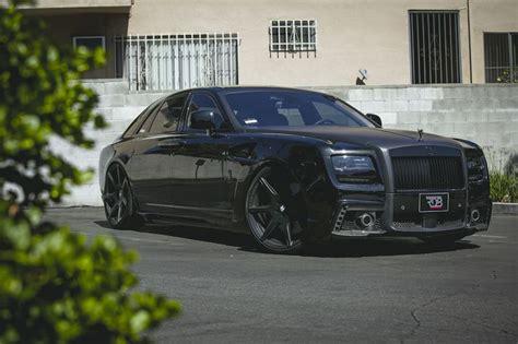 murdered rolls royce wraith rdb la 39 s blacked out rolls royce ghost cars i