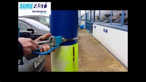 apply stainless steel banding  surefast  band  tool youtube