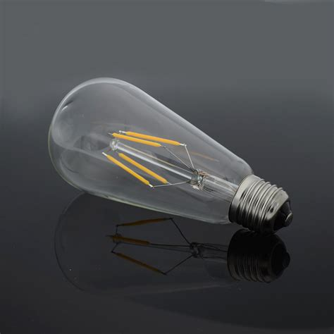 classic edison filament cob led bulbs glass chandelier