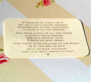 wedding invitation no gifts cash only awesome monetary With wedding invitation wording regarding gifts