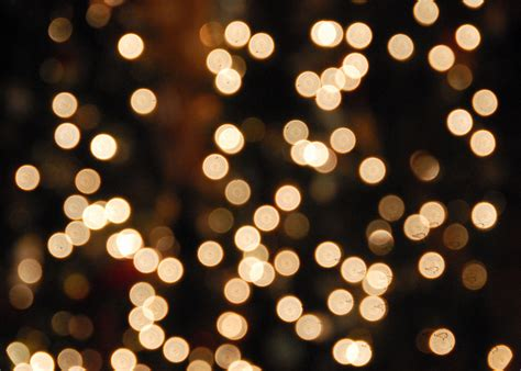 white christmas lights bokeh hard to really get much of