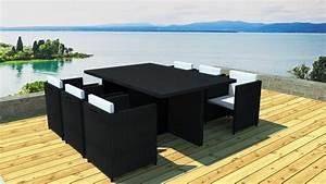 Salon Jardin Encastrable : salon de jardin encastrable 6 places ~ Maxctalentgroup.com Avis de Voitures