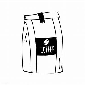 Bag of coffee beans icon vector | free image by rawpixel ...