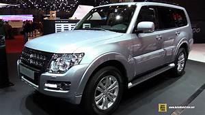 Mitsubishi Shogun : 2015 mitsubishi pajero exterior and interior walkaround 2015 geneva motor show youtube ~ Gottalentnigeria.com Avis de Voitures