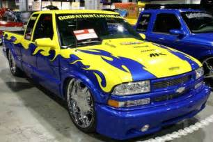 Custom Chevy S10 Pickup Truck