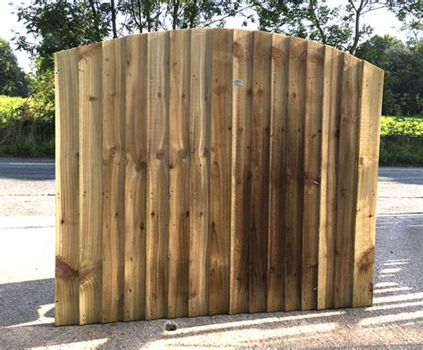 double sided feather edge panel empress fencing