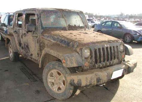 wrecked jeep wrecked trucks for sale insurance salvage auction trucks