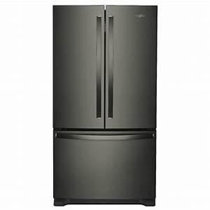 Whirlpool 25 Cu  Ft  French Door Refrigerator In