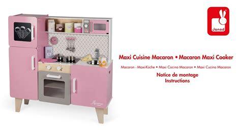 janod maxi cuisine chic maxi cuisine macaron janod notice de montage