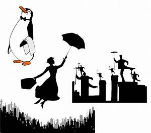 Mary Poppins Silhouette Tattoo   www.imgkid.com - The ...