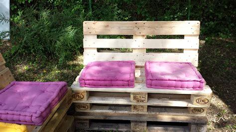 Enchanteur Fabriquer Des Coussins Pour Salon De Jardin