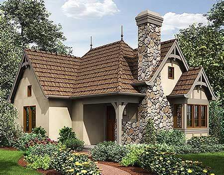 Plan 69590AM: One Bed Tiny House Plan Small cottage