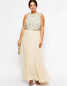 robe longue grande taille habillee blanc casse bi matiere With robe blanc cassé