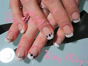 Ongles En Gel Rose : ongle en gel noir et rose ~ Melissatoandfro.com Idées de Décoration