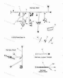 Polaris Snowmobile 2014 Oem Parts Diagram For Electrical