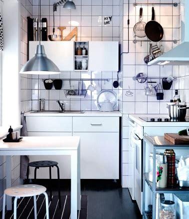 gain de place cuisine cuisine 10 aménagements déco gain de place