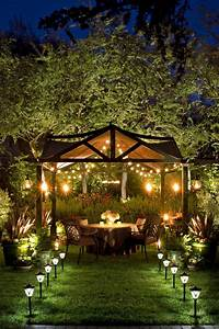Pergola, String, Lights, Set, A, Romantic, Mood, In, Your, Backyard