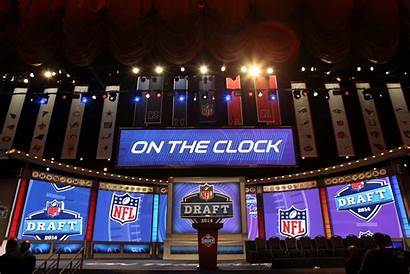 Draft Nfl Mock Stage Podium 49ers Reports