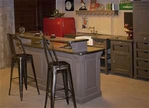 Cuisine Style Industriel Ikea : cuisine style loft atelier ~ Melissatoandfro.com Idées de Décoration