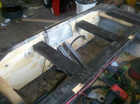 Flat Bottom Boat Transom Repair by Boat Essentials April 2014