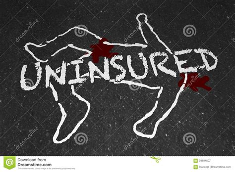 Protecting you from the unexpected. Uninsured Medical Insurance Accident Injury Chalk Outline Stock Illustration - Illustration of ...