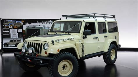hatari truck jeep wrangler africa concept photo gallery autoblog