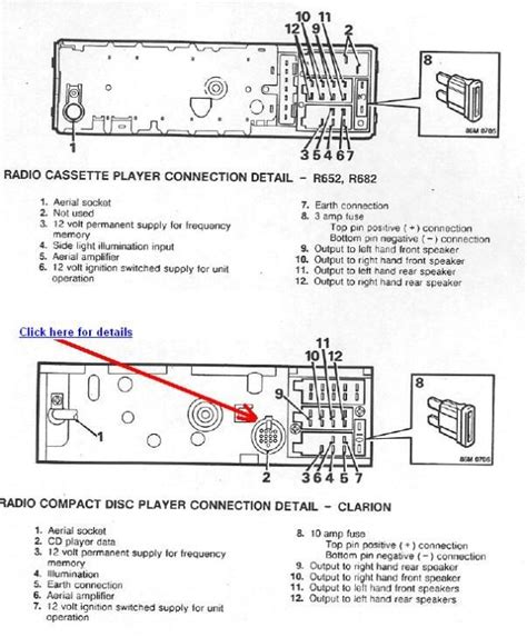 clarion stereo wiring diagram wiring diagram and schematic diagram