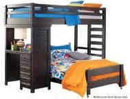 art van loft bed with desk creekside collection youth bedroom art van furniture