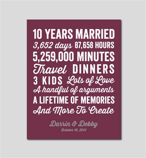 10 year wedding anniversary gift ideas for 10 year anniversary gift 10 year wedding anniversary you