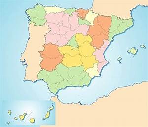 Juegos de Geografía Juego de Rellena el mapa político de España Cerebriti