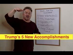 CONFUSED? Trump's 5 New Accomplishments (Bix Weir) - YouTube