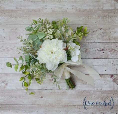 silk wedding bouquet boho bouquet bridal bouquet
