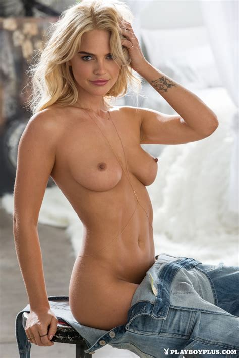 Naked Rachel Harris In Playboy Magazine