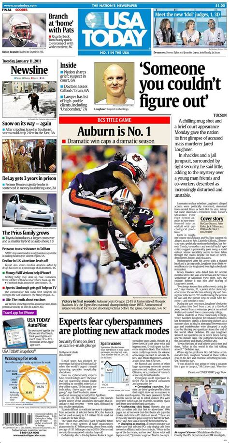 news today newspaper usa today usa front pages from newspapers in