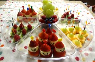 Christmas Fruit Tray Ideas for Kids
