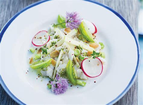thym cuisine tartare poisson recette légère gourmand