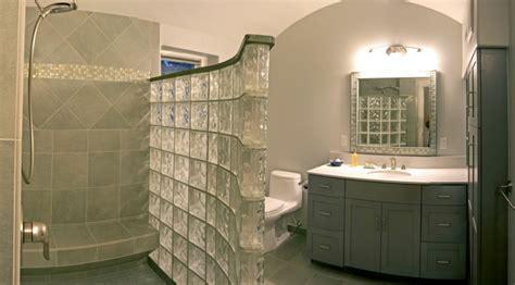 salle de bain pave de verre mettons des briques de verre dans la salle de bains