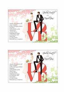 Etiquetas de invitación a Bodas gratis Plantillas de Labeljoy
