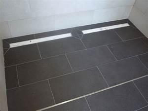 Duschtrennwand Bodengleiche Dusche : bodenebene dusche gef lle ro54 hitoiro ~ Michelbontemps.com Haus und Dekorationen