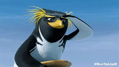 Surfs Penguin Surf Wavemania Gifs Giphy Surfing