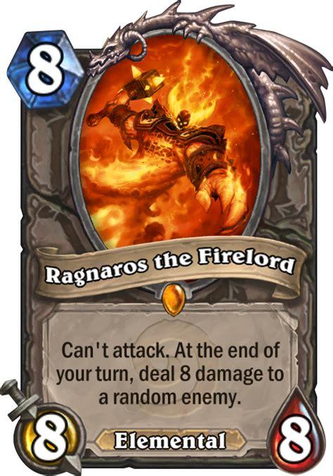 Hearthstone Best Ragnaros Deck by Ragnaros The Firelord Hearthstone Card