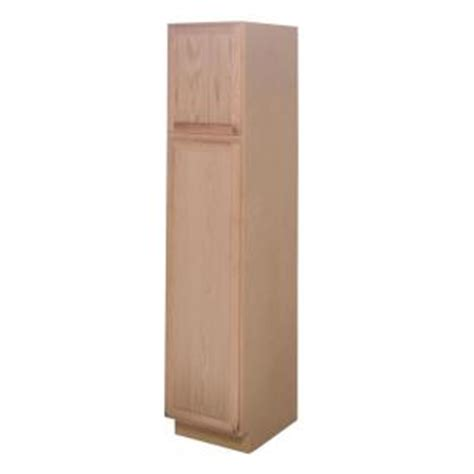 unfinished pantry cabinet home depot assembled 18x84x24 in pantry kitchen cabinet in